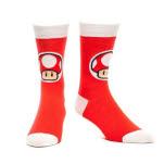 Nintendo Mushroom Red Sock