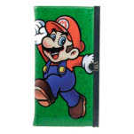 Nintendo Green Mario Jumpping Girl Full Pr Wallet