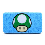 Nintendo Blue Hinge Full Printed 1 Up Wallet