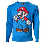 Nintendo Marioblueknitted Sweater