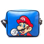 Nintendo Blue Mario Flight Bag Messenger Bag