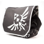 Nintendo Zelda Black Mb Logo Front Messenger Bag