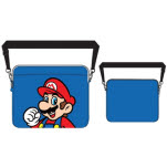 Nintendo Blue Mario Print Laptop Bag Bag