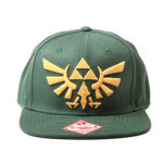 Nintendo Zelda Golden Logo Snap Back Cap