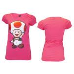 Nintendo Pink Toad T-Shirt