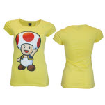 Nintendo Yellow Toad Ladies T-Shirt