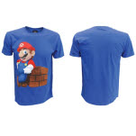 Nintendo Mario Block Blue T-Shirt