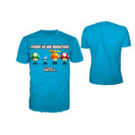 Nintendo Bright Blue Power Tt Mushroom T-Shirt