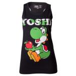 Nintendo Yoshi Black Girls Top Top
