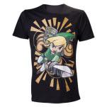 Nintendo Black Zelda Wind Waker Shirt T-Shirt