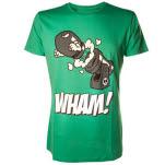 Nintendo Green Shirt Bomb T-Shirt