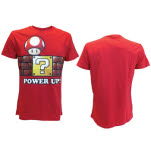 Nintendo Red Power Up T-Shirt