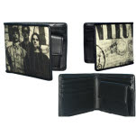 Nirvana Printed And Embossed Bifold Wallet