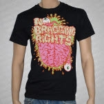 No Bragging Rights Brains Black T-Shirt