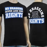 No Bragging Rights Never Lose Hope Black T-Shirt
