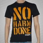 No Harm Done Escape Black T-Shirt