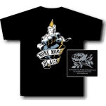None More Black Candle Black T-Shirt