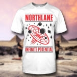 Northlane Infinite Potential White T-Shirt