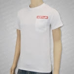 Northlane Red Pocket White T-Shirt