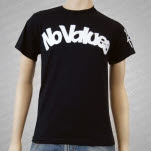 No Values Skate Black T-Shirt