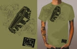 Oath Eternal To The Grave Olive T-Shirt