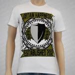 Obtain Happiness Lion Crest White T-Shirt