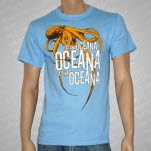 Oceana Octopus Light Blue T-Shirt