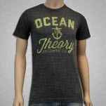 Ocean Is Theory Anchor Grey T-Shirt