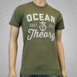 Ocean Is Theory Anchor Olive T-Shirt