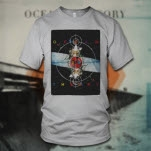 Ocean Is Theory Astro Silver T-Shirt