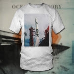 Ocean Is Theory Rocket White T-Shirt