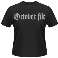 October File Why Black T-Shirt