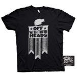 Off With Their Heads Eagle Black T-Shirt