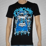 Of Machines Reaper Black T-Shirt