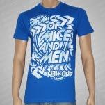 Of Mice  Men Arrows Blue T-Shirt