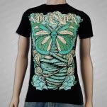 Of Mice  Men Butterfly Black T-Shirt
