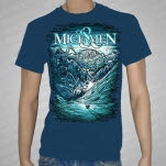 Of Mice  Men Ice Age Royal Blue T-Shirt