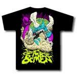 Of Mice  Men Ram Death Black T-Shirt