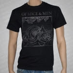 Of Mice  Men Wave Black T-Shirt