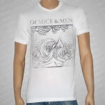 official Of Mice  Men Wave White T-Shirt
