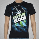 Oh The Blood Sound Girl Black T-Shirt