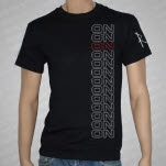 ON Stacked Logo Black T-Shirt