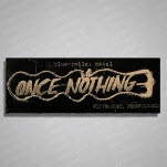 Once Nothing BlueCollar Metal Sticker