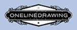 Onelinedrawing Name Plate Sticker