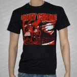 Only Crime Before And After Black T-Shirt