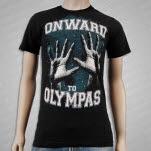 Onward To Olympas Hands Black T-Shirt