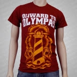 Onward To Olympas Lighthouse Maroon T-Shirt