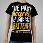 Onward To Olympas Shattered Black T-Shirt