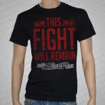 Onward To Olympas This Fight Will Remain Black T-Shirt