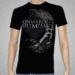 Onward To Olympas Torch Black T-Shirt
